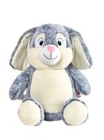 Personalised Cubbies Bunny Grey
